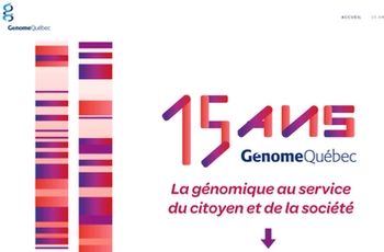 15 years of Genomics in Québec - from Research to Economic Development