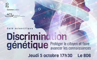 Café scientifique sur la discrimination génétique
