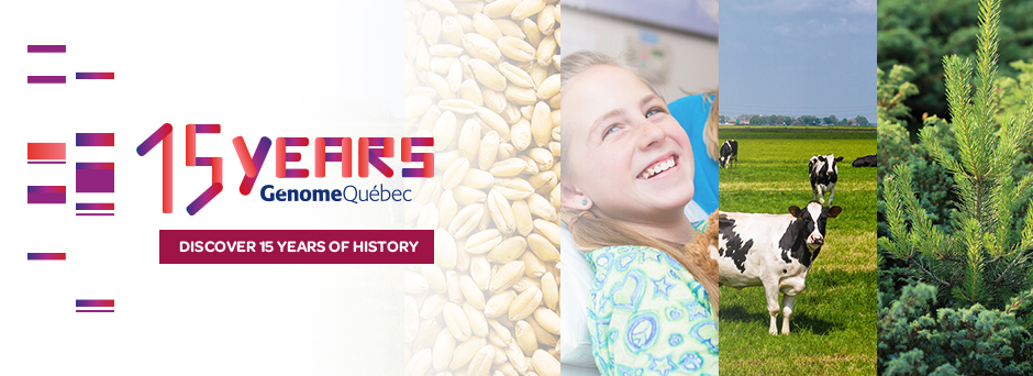 15 years Génome Québec - Discover 15 years of history